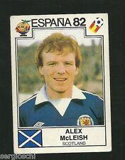 CARD - FIGURINE PANINI  ESPANA 82 - SCOTLAND - 404 - ALEX MCLEISH