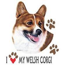 Welsh Corgi Love Crew Sweatshirt Pick Your Size Small -5 X Large