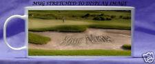 personalised golf bunker mug golfer gift