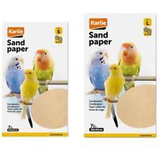 7er Pack Vogel Sandteppich Käfig Sandpapier, Vogelsandpapier in zwei Größen