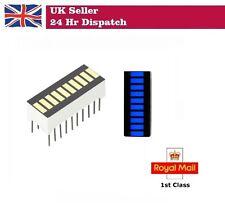 Adafruit 10 Segment Light Bar LED Display - BLUE KWL-R1025BB [ADA1815]