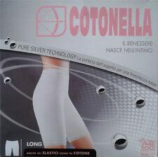 2 Slip Long Donna a Gamba Cotonella