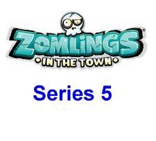 Zomlings dans la ville ~ série 5 ~ charges au choix ~ quelques rares