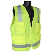 RADIANS SV7G SAFETY VEST - ANSI Green Surveyor Class 2 Safety Vest