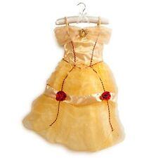 NEW Disney Store Beauty & the Beast Princess Belle Costume Dress 5/6 7/8