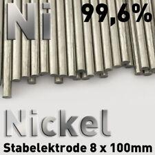 Nickel-Rundmaterial 8 mm Diamètre x 100 mm pureté 99,6% ni élément csté