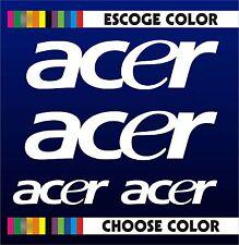 4 X PEGATINAS -STICKER- VINILO - PACK - Acer - Moto Sponsor -Pegatina -Aufkleber