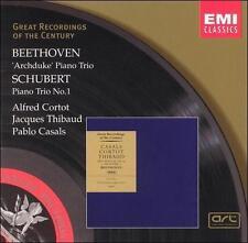 Beethoven: Piano Trio No. 7 - Archduke / Schubert: Piano Trio No. 1 in B flat G