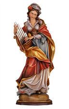 Saint Cecilia statue wood carved