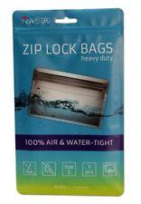 Noaks Bag Schnellverschlussbeutel 100µ NEU je 5 Bags diverse Größen Zip Beutel
