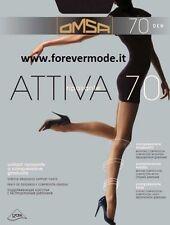5 Collant donna Omsa 70 denari riposanti a compressione graduata art Attiva 70