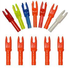 100pcs 4.2mm Fiber Carbon Arrow Nocks Inserts Shaft Bow Shooting Nock Colorful