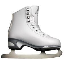 Jackson Misses' Js151 Girls' Figure Skates with Mark I Blades - White (New)