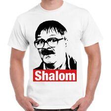 Friday Night Dinner Funny Jim Bell Shalom Parody Tv Show Retro T Shirt 496