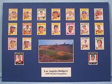 Los Angeles Dodgers 1959 World Series Champions