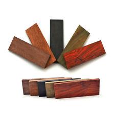 DIY Knife Handle Material Mahogany Ebony Wood Scale Slab Bush Gun Blade Making