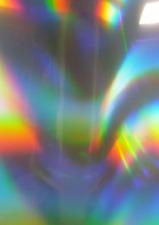 A4 confezione olografica dello spettro-Vinile Trasferimento Ferro su fogli pressa di calore in tessuto 4
