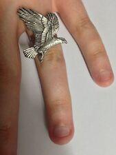 Eagle pp-b09 peltro inglese anello regolabile fatto a mano in Sheffield