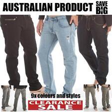 Mens jeans GS Denim pants high quality Australian denim label Huge sale RRP$119