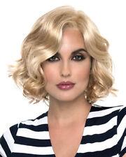 Coco Envy Wigs Lace Front Monotop  Beachy Wavy Short You Choose Color
