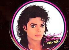 MICHAEL JACKSON 1958-2009 MEMORY pin Button #8