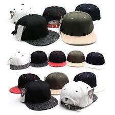 Unisex Mens Womens Unique Buckle Strapback Hip-hop Baseball Cap Casual Hats