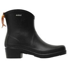 Aigle Miss Juliette Bottillon Black Womens Boots