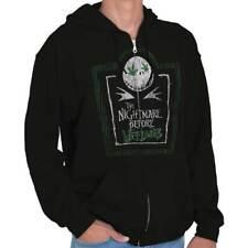 Nightmare Before Weedmas Jack Nineties Movie Zipper Sweat Shirt Zip Sweatshirt