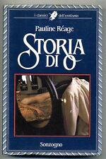 Pauline Reage # STORIA DI O # Sonzogno 1986