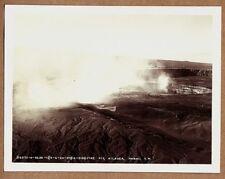 KILAUEA FIRE PIT - 1934 HAWAII AERIAL PHOTO