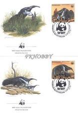 Paraguay 1985 Mi FDC 3854-57 WWF Animals Pets Tiere Zwierzęta
