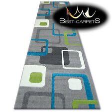 CHEMIN DE TABLE Tapis, FOCUS F240 turquoise, moderne, Escaliers largeur 70cm -