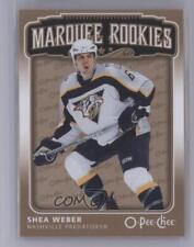 2006-07 O-Pee-Chee #525 Shea Weber Nashville Predators RC Rookie Hockey Card