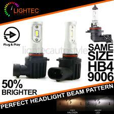 NEW! HB4 9006 CANBUS SAFE SUPER SLIM LED CONVERSION CAR HEADLIGHT BULBS KIT V10