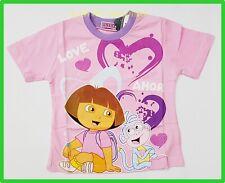 BNWT Dora kids cartoon Top T-shirt girls Tshirt 100% cotton new release