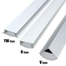 U/V/YW Aluminium Profil für LED Streifen Aluprofil Streifen Light Lichtleiste