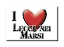 CALAMITA ABRUZZO FRIDGE MAGNET MAGNETE SOUVENIR LOVE LECCE NEI MARSI (AQ)