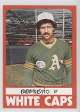 1980 TCMA Minor League #940 Fred Devito West Haven White Caps Baseball Card