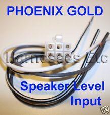 PHOENIX GOLD 6 pin Speaker level input Harness V1502