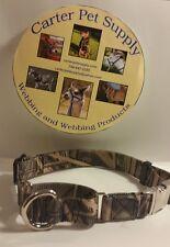 Carter Pet Supply Medium Camouflage Martingale Dog Collar  15.5 to 20.5 USA MADE