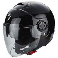 SCORPION exo-city Solid Motocicleta Casco Jet - Negro