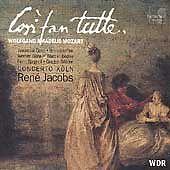 Mozart - Così fan tutte / Gens · Fink · Güra · Boone · Spagnoli · Oddone · Conce