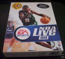NBA LIVE 99 gioco pc originale Basket completo ITA PAL