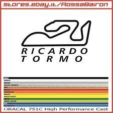 1 ADESIVO VALENCIA RICARDO TORMO mm.100x60 - STICKERS AUFKLEBER PEGATINAS DECALS