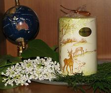 Design-Kerze*ländliches Design mit Wildtieren*verschied.Formen und Größen*edel