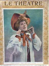LE THEATRE 1902 N 96 NUMERO DE NOEL - Mme SUZANNE DESPRES - Mme REJANE