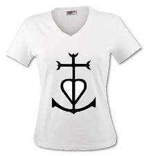T-shirt Femme Croix de Gardian - Camargue - du S au XL
