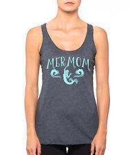 MERMOM mermaid mom beach ocean waves sun sand work out cute Women's Tank Top