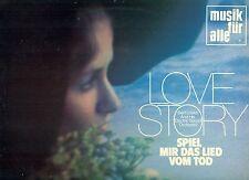 "BERT LOSKA ELECTRIC SONIDO LOVE STORY SPIEL MIR DAS LIED VOM TOD 12"" LP (L9610)"