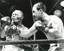 Rocky Marciano win heavy weight title with Jersey Joe Alcott Photo Print